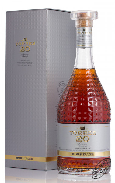 Torres 20 YO Hors d'Age Brandy 40% vol. 0,70l