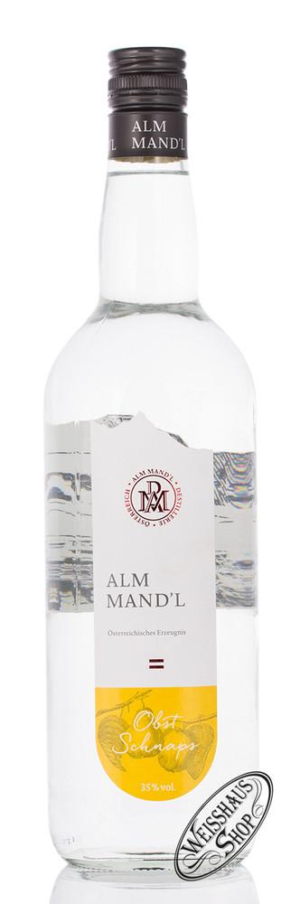 Alm Mand'l Obst Schnaps 35% vol. 1,0l