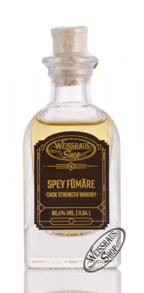 Spey Fúmáre Cask Strength Whisky 60,4% vol. 0,04l Weisshaus Sample
