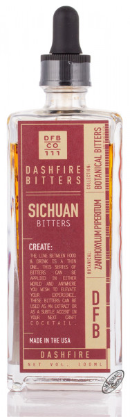 Dashfire Sichuan Peppercorn Bitters 38% vol. 0,10l