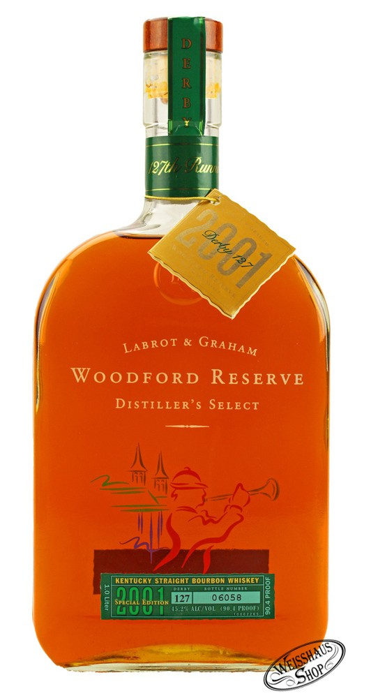 Woodford Reserve Derby 2001 Bourbon Whiskey 45,2% vol. 1,0l