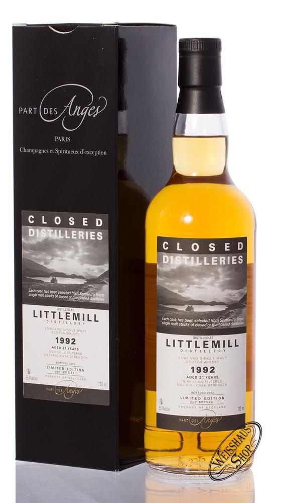 Littlemill 21 YO Vintage 1992 Closed Distilleries Whisky 55,4% vol. 0,70l