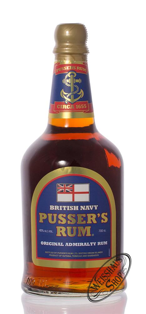 Pusser's Navy Rum Blue Label 40% vol. 0,70l