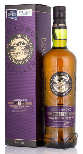 Loch Lomond 18 YO Single Malt Whisky 46% vol. 0,70l