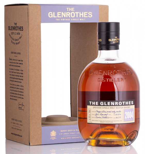 The Glenrothes Vintage 2004 Whisky 43% vol. 0,70l