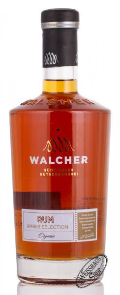 Walcher Amber Selection Organic BIO Rum 40% vol. 0,70l
