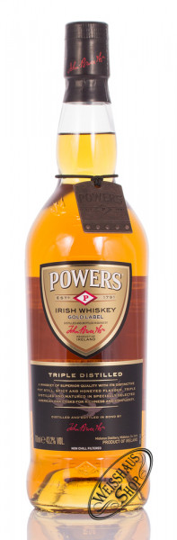Powers Gold Label Irish Whiskey 43,2% vol. 0,70l