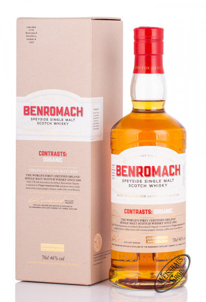 Benromach Organic Special Edition Whisky 46% vol. 0,70l