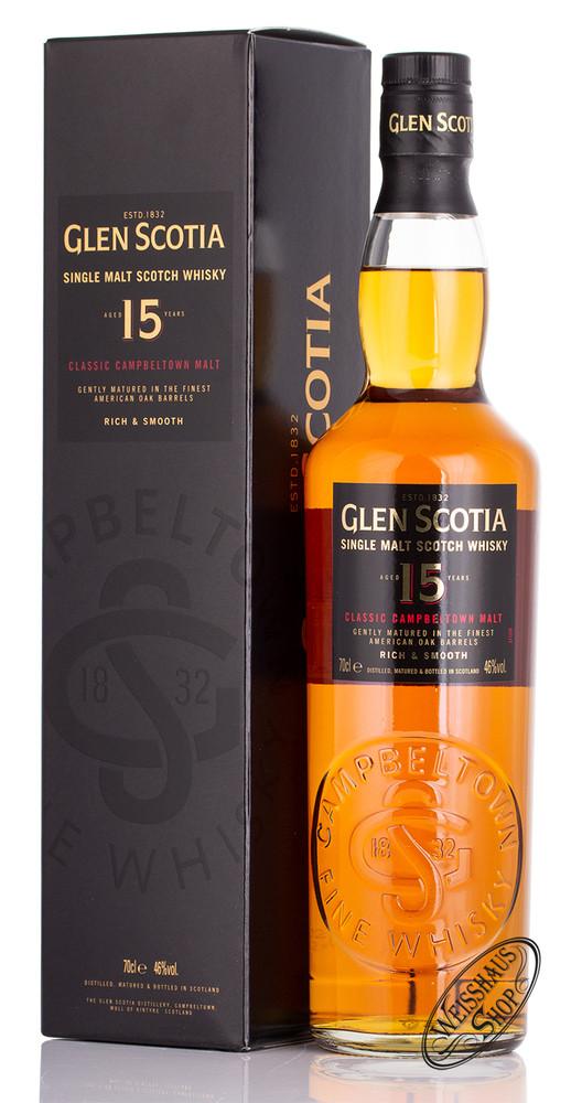 Glen Scotia 15 YO Single Malt Whisky 46% Vol. 0,70l