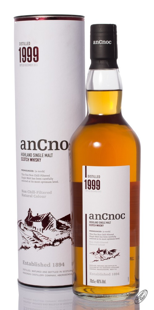 AnCnoc Vintage 1999 Whisky 46% vol. 0,70l