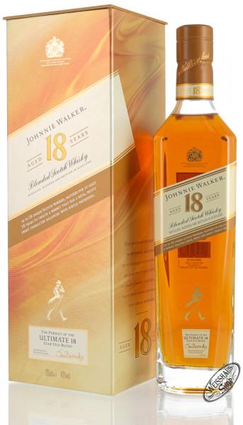 Johnnie Walker Ultimate 18 YO Blended Whisky 40% vol. 0,70l