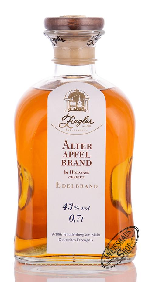 Brennerei Ziegler Ziegler Alter Apfel Brand 43% vol. 0,70l