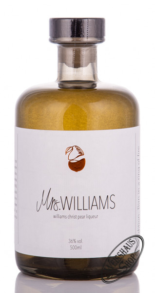 Mrs. Williams Birnenlikör 36% vol. 0,50l
