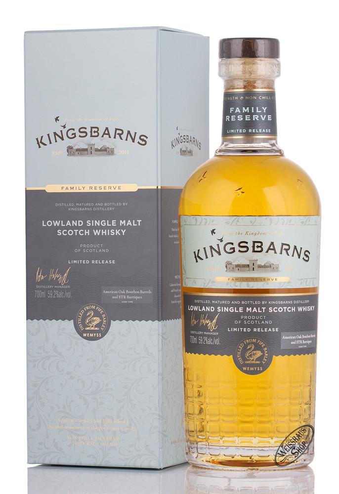 Kingsbarns Distillery Kingsbarns Family Reserve 2020 Whisky 59,2% vol. 0,70l