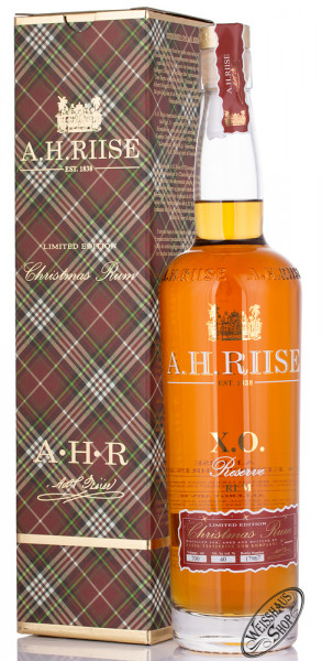A.H. Riise XO Christmas Rum Limited Edition 40% vol. 0,70l