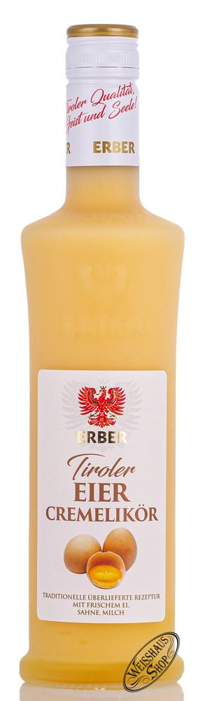 Erber GmbH Erber Tiroler Eier Cremelik�r 16% vol. 0,50l