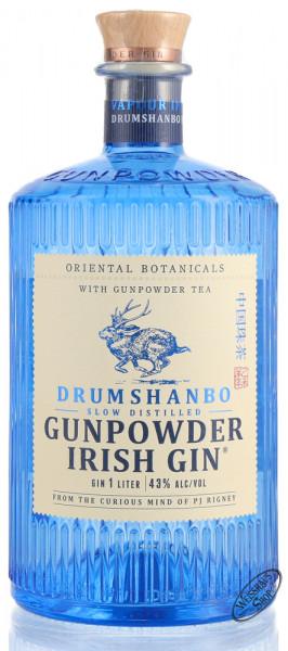 Drumshanbo Gunpowder Irish Gin 43% vol. 1,0l