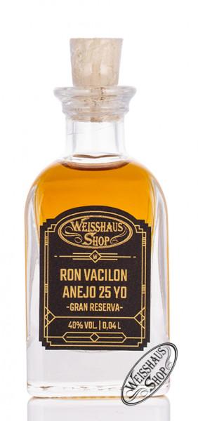Ron Vacilon Anejo Gran Reserva 25 YO Rum 40% vol. 0,04l Weisshaus Sample