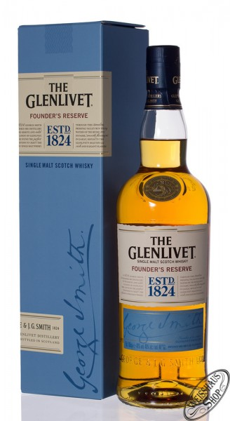 The Glenlivet Founders Reserve Whisky 40% vol. 0,70l