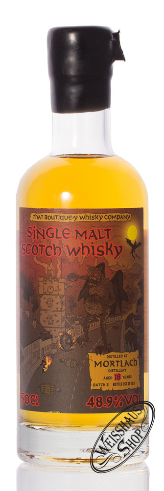 Mortlach 18 YO TBWC Whisky 48,9% vol. 0,50l