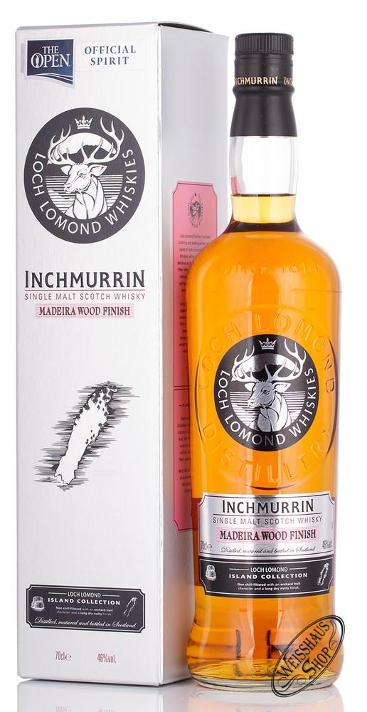 Loch Lomond Inchmurrin Madeira Wood Finish Whisky 46% vol. 0,70l