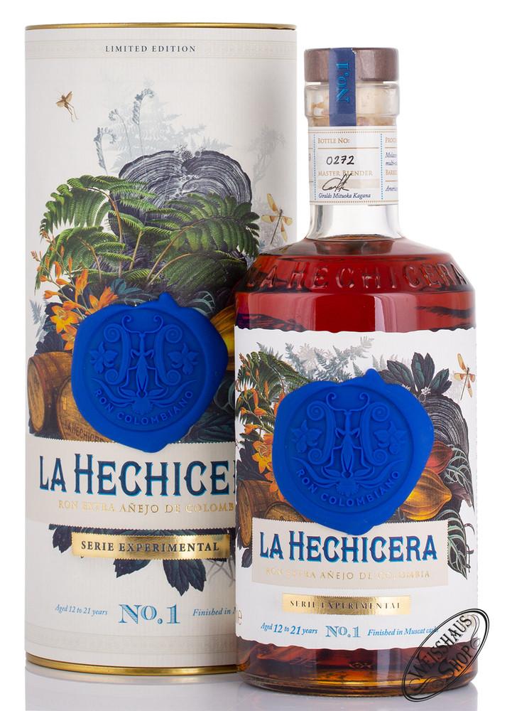 La Hechicera Experimental No. 1 Rum 43% vol. 0,70l