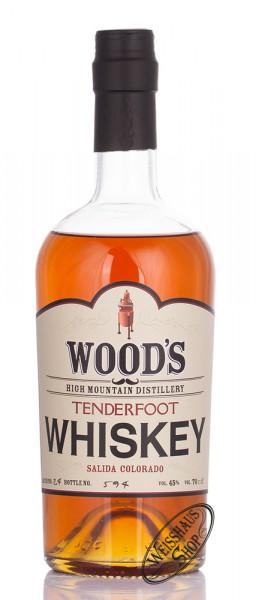 Wood's Tenderfoot Malt Whiskey 45% vol. 0,70l