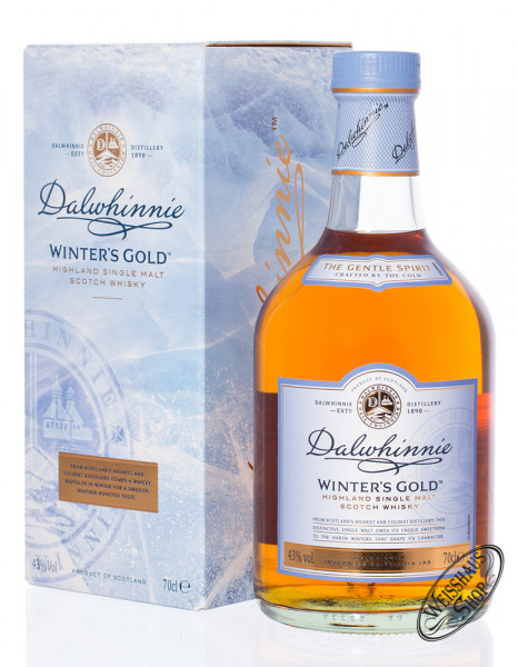 Dalwhinnie Winters Gold Whisky 43% vol. 0,70l