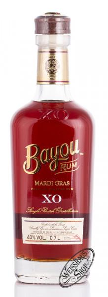 Bayou XO Mardi Gras Rum 40% vol. 0,70l