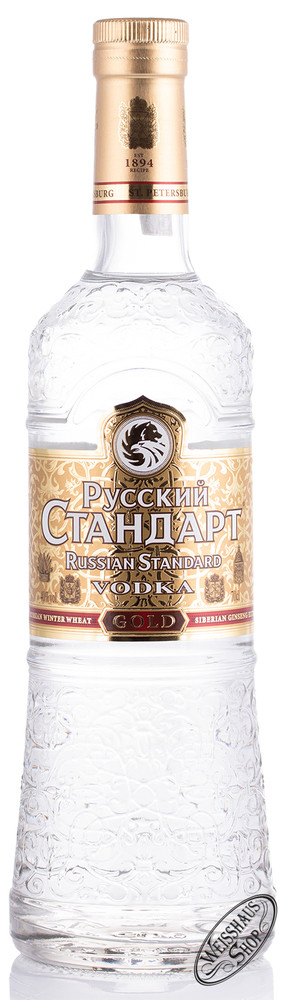 Russian Standard Gold Vodka 40% vol. 0,70l
