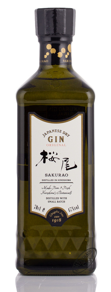 Sakurao Original Gin 47% vol. 0,70l