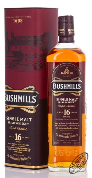 Bushmills 16 YO Single Malt Irish Whiskey 40% vol. 0,70l