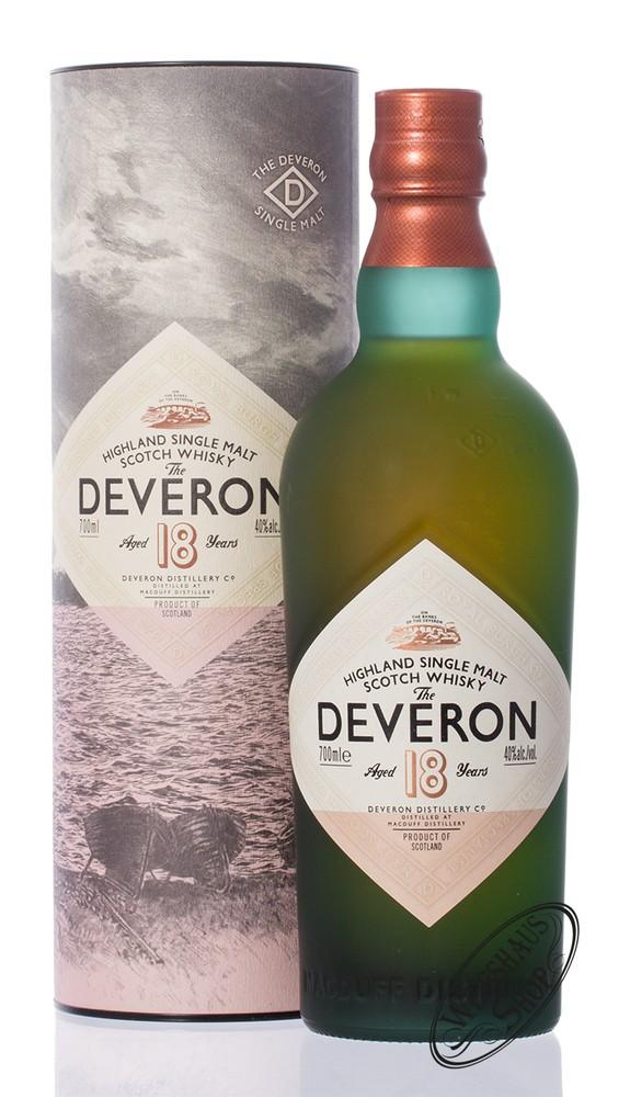 The Deveron 18 YO Whisky 40% vol. 0,70l