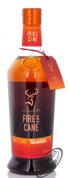 Glenfiddich Fire & Cane Experimental Series Whisky 43% vol. 0,70l