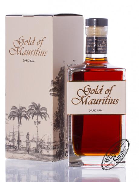 Gold of Mauritius Dark Rum 40% vol. 0,70l