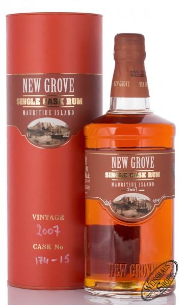New Grove 2007 Single Cask Rum 49,9% vol. 0,70l