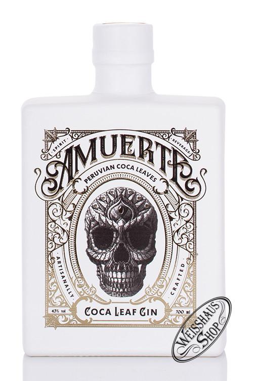 Amuerte Coca Leaf Gin White Edition 43% vol. 0,70l