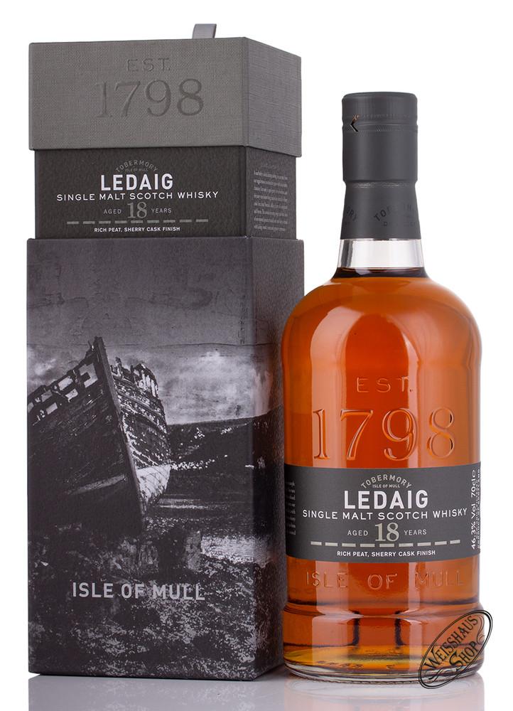 Tobermory Ledaig 18 YO Islands Whisky 46,3% vol. 0,70l