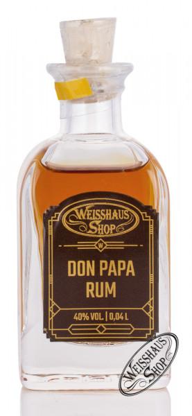 Don Papa Rum 40% vol. 0,04l Weisshaus Sample