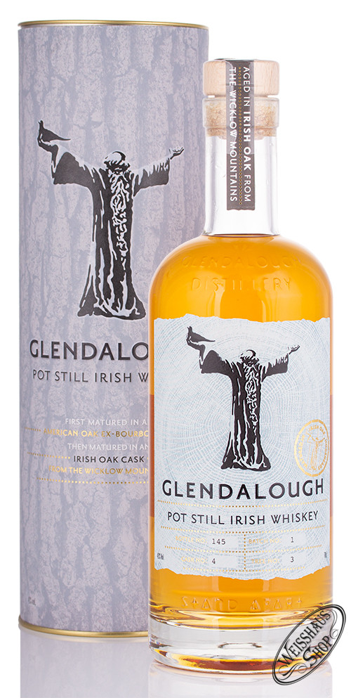 Glendalough Pot Still Whiskey 43% vol. 0,70l