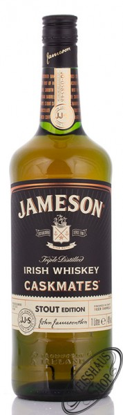 Jameson Caskmates Stout Irish Whiskey 40% vol. 1,0l