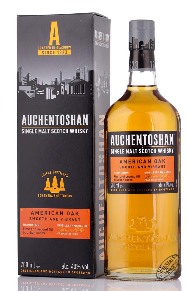 Auchentoshan American Oak Single Malt Whisky 40% vol. 0,70l