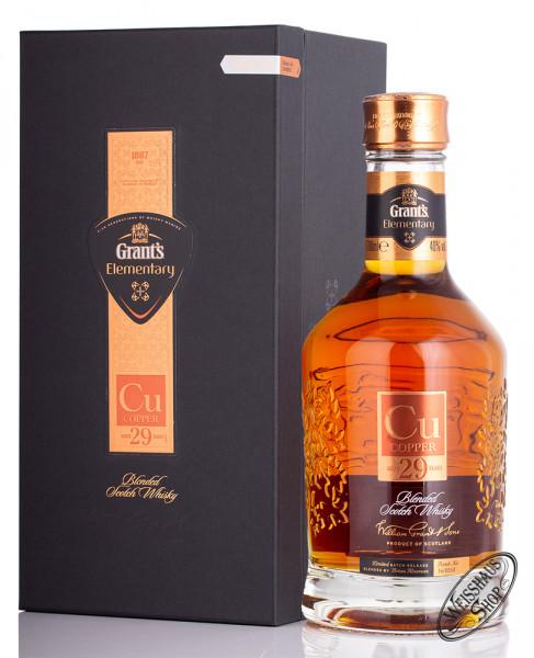Grant's 29 YO Elementary Copper Whisky 40% vol. 0,70l