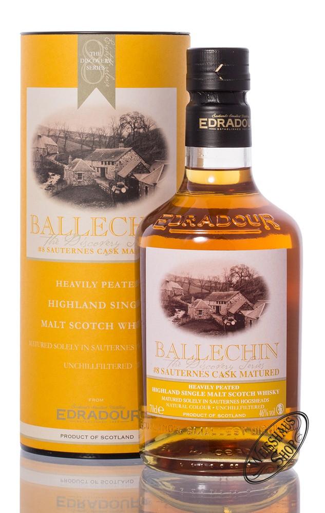 Edradour Ballechin #8 Sauternes Cask Matured Whisky 46% vol. 0,70l