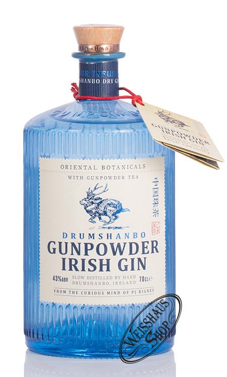 Shed Distillery Drumshanbo Gunpowder Irish Gin 43% vol. 0,70l