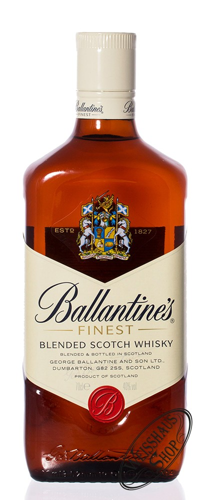 Ballantine's Finest Blended Scotch Whisky 40% vol. 0,70l