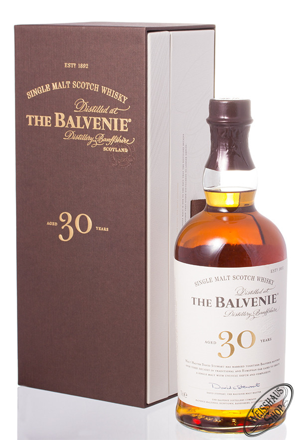 The Balvenie 30 YO Whisky 47,3% vol. 0,70l