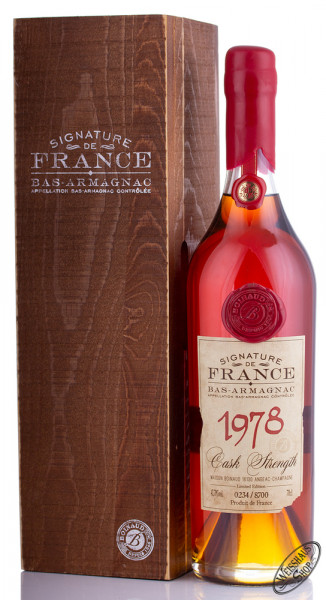 Signature de France Vintage 1978 Armagnac 43,7% vol. 0,70l