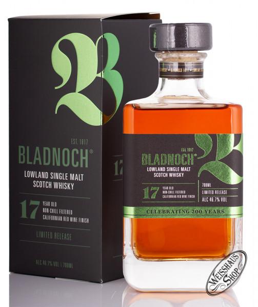 Bladnoch 17 YO Californian Red Wine Finish Whisky 46,7% vol. 0,70l