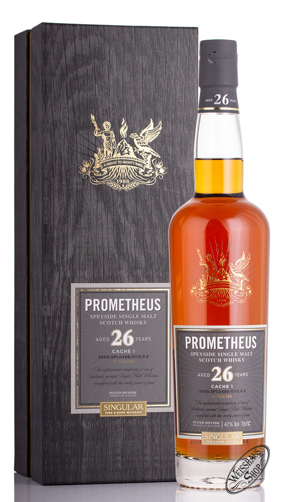 Glasgow Distillery Co. Prometheus 26 YO Whisky 47% vol. 0,70l